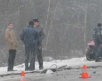 Пьяный брянский водитель врезался в трубу и опрокинулся