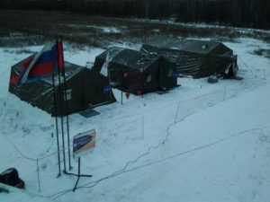 На трассе в Брянской области развернули пункты обогрева