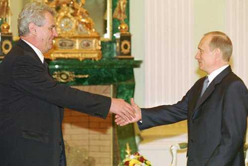 Президент Чехии: Не поздравляю Украину с тем, что ее герой — Бандера