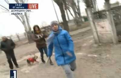 Украинским журналистам разбили камеру и объяснились в ненависти