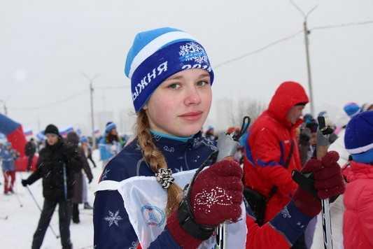 В Брянске на «Лыжню» вышли гонщики в возрасте от полутора до 80 лет