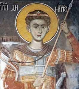 Брянские паломники поклонятся мощам Димитрия Солунского