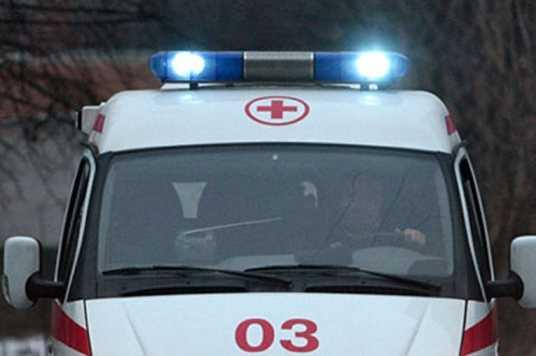 На брянской трассе перевернулась иномарка – пострадали четверо