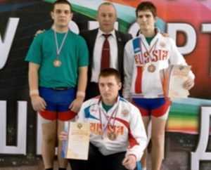 Брянский гиревик установил рекорд России