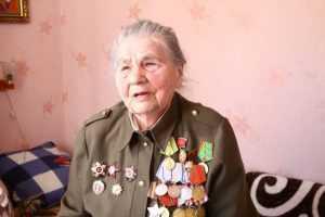 Брянскому ветерану войны Анне Ивановой исполнилось 90 лет