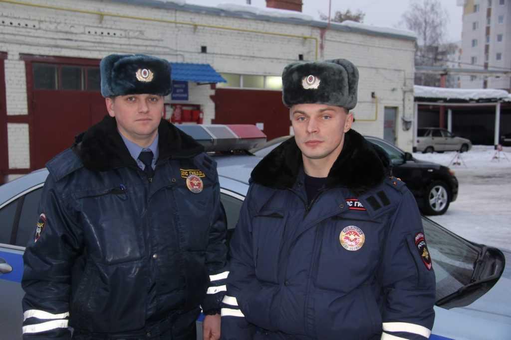 В брянской полиции служат настоящие защитники Отечества