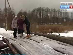 Мост, с которого упала брянская школьница, признали бесхозным