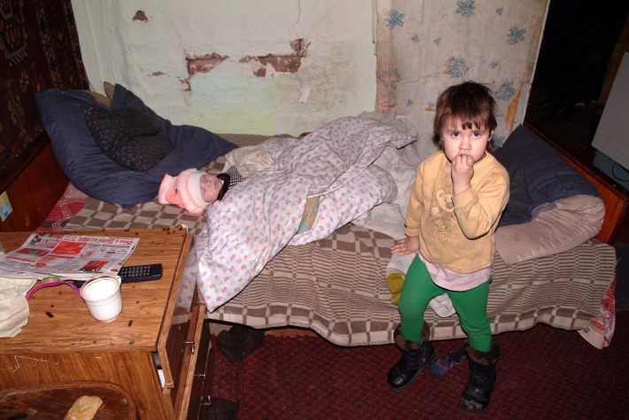 Полиция освободила из  домашней тюрьмы троих брянских детей