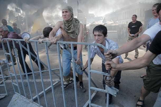 Харьковчане выступили против «героев небесной сотни»