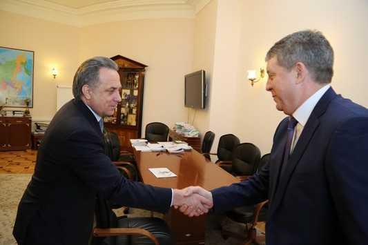 Спортивные объекты брянцы будут строить при помощи министра Мутко