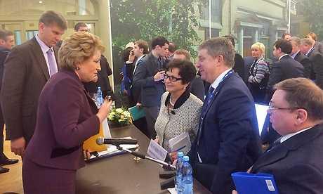 Матвиенко одобрила предложение брянского главы об уменьшении пошлин