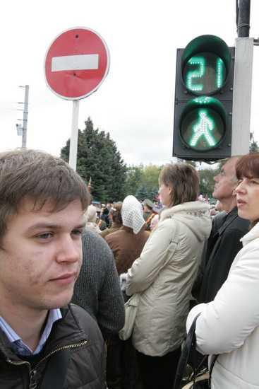 Светофоры в Брянске запоют