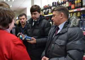 Хитрые брянские торговцы заменили энергетики винными напитками