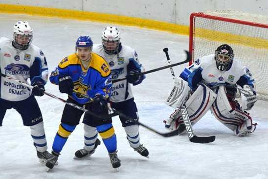 В первом матче 1/8 «Россошь» разделалась с хоккейным «Брянском»