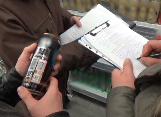 Брянский гипермаркет оштрафовали за торговлю энергетиками