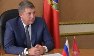 Брянский глава Александр Богомаз срезал десятую часть своей зарплаты