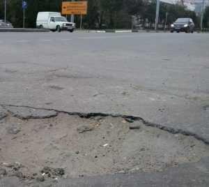 Бывшие брянские власти оставили разрушенными  85 процентов дорог
