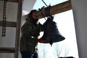 В Брянском храме впервые за шесть лет прозвучал колокольный звон