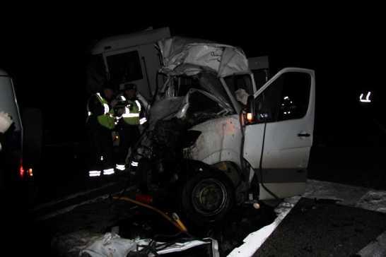 Водитель фуры рассказал о ДТП на брянской трассе, в котором погибли 16 человек