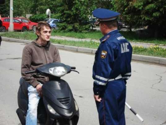 Сегодня брянские гаишники будут ловить мотоциклистов-нарушителей