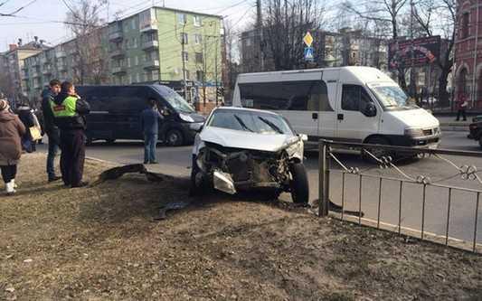 По вине брянской автомобилистки пострадали двое детей