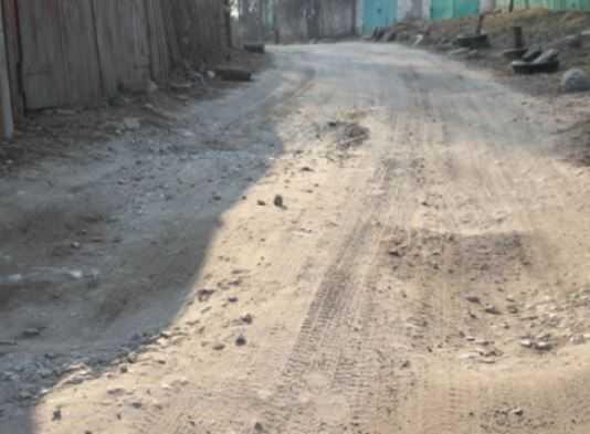 Глава Брянска пообещал отремонтировать дорогу на улице Некрасова