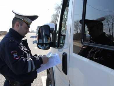 Брянская полиция наказала 226 водителей маршруток и автобусов