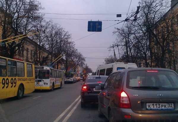 Брянские троллейбусы не отключат