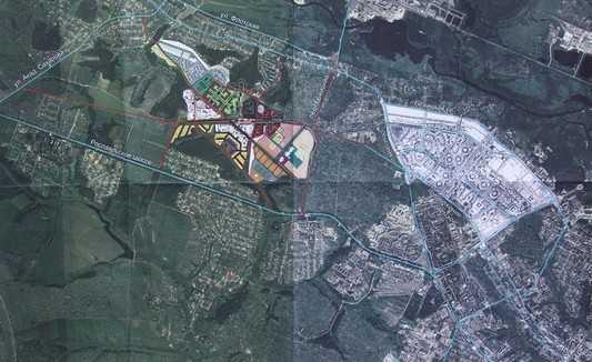 От Бежицы дорогу прорубят к брянскому «АэроПарку» и Смоленскому шоссе