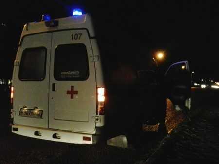 На дороге Брянск – Дятьково «Ауди» сбил пешехода и столкнулся с «Рено»