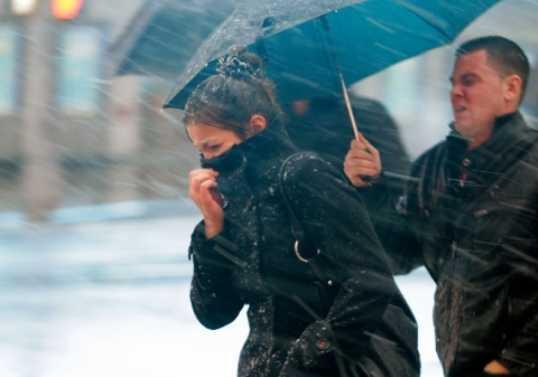Брянщину ждёт испытание ураганом и дождём со снегом