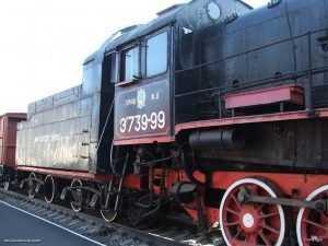 Построенный в Брянске 80 лет назад паровоз Победы отправился в путь