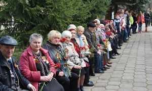 Брянцы провели митинг, посвященный узникам концлагерей