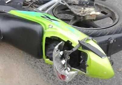 Брянец пострадал при столкновении легковушки и скутера