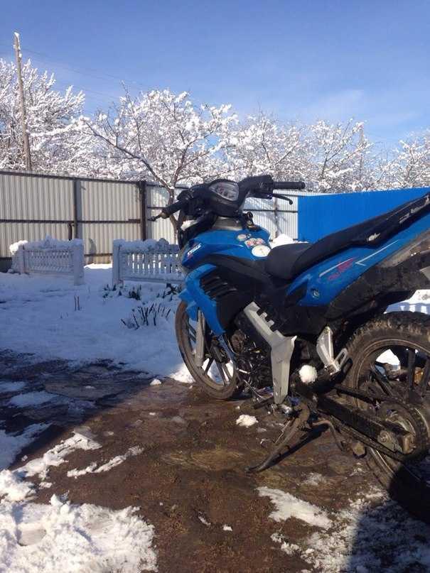 Юго-запад Брянской области засыпало снегом