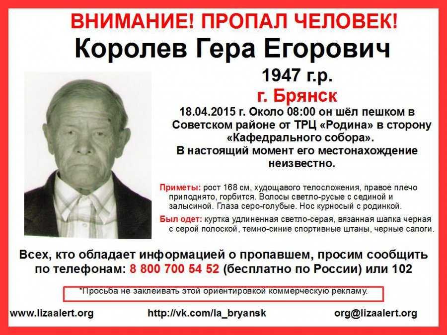 Добровольцы сообщили о гибели брянского пенсионера Королева