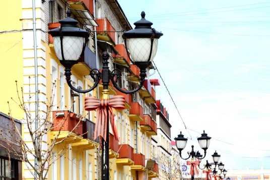 Сегодня в Брянске стартовала акция «Георгиевская ленточка»