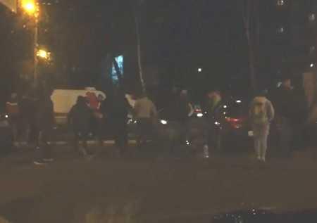 Опубликована запись драки и стадного бега в Брянске у «БУМ–Сити»