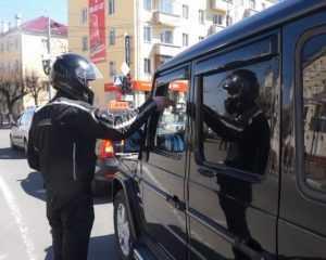 В Брянске мотосезон открыли под благородными лозунгами