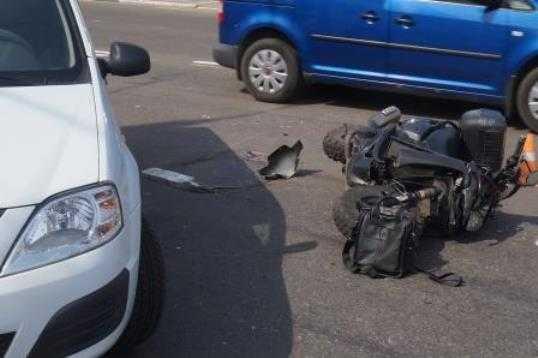 В центре Брянска разбился насмерть 40-летний скутерист