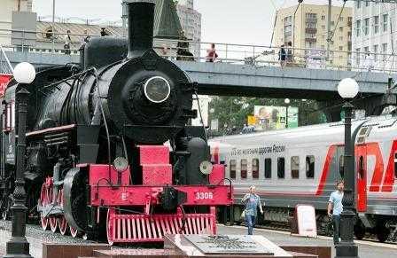 В Брянскую область железнодорожники направили поезд-музей