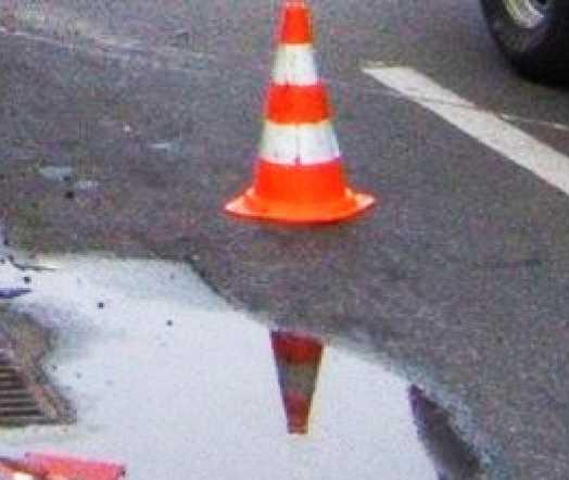Под Брянском иномарка сбила пешехода и протаранила два автомобиля