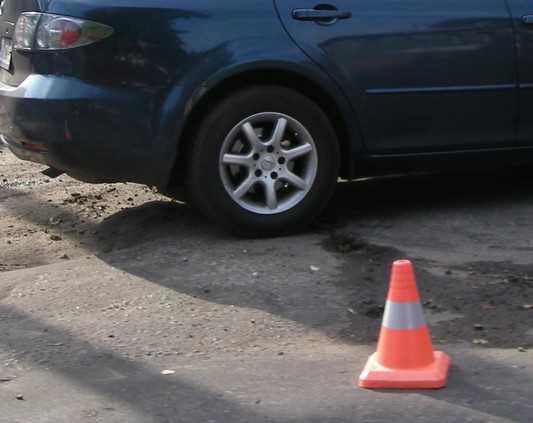 В Брянске при столкновении автомобилей пострадал пассажир