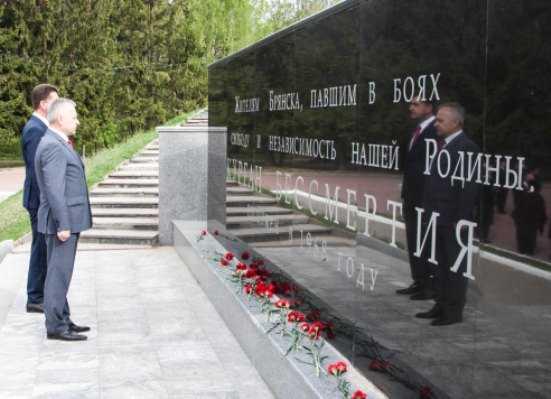 В Брянске стартовала акция «Вспомним всех поимённо»