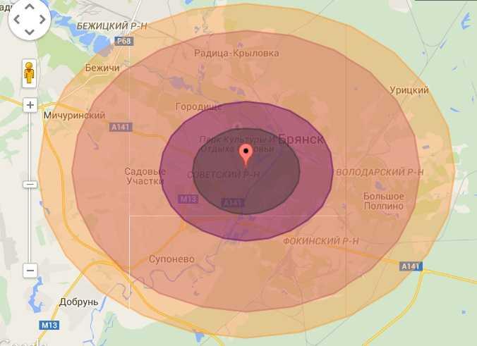 Американцы хотели сбросить ядерную бомбу на Брянск