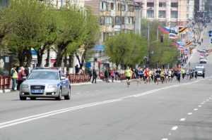 Эстафету «Дорогами памяти» пробежали 2 тысячи брянцев
