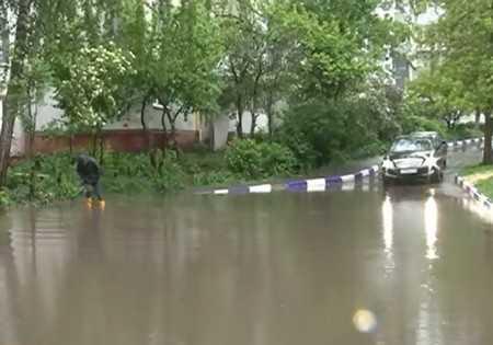 После пятничного дождя Брянск ушел под воду
