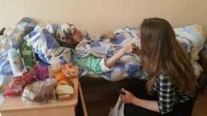 Брянская молодежь подарила праздник пожилым людям