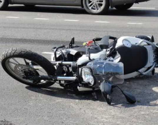 Под Брянском разбились мотоциклист и водитель легковушки