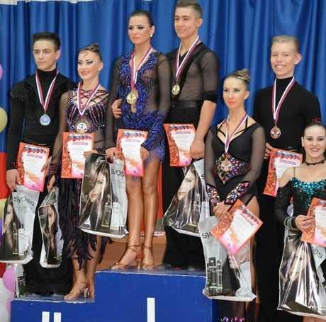 Юные брянские танцоры победили на первенстве Курской области
